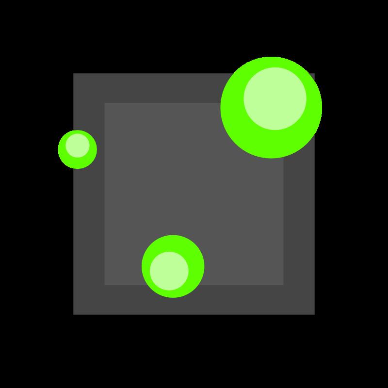 logo abstrait 3D